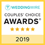 Wedding Wire 2019 Awarded
